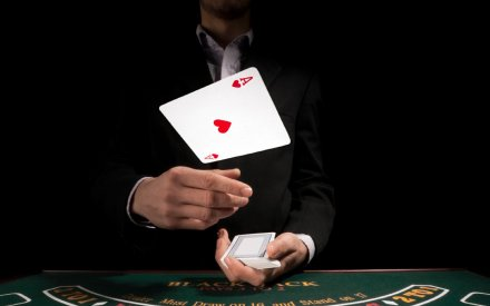 """""""We cannot change the cards we are dealt, just how we play thehand."""""""