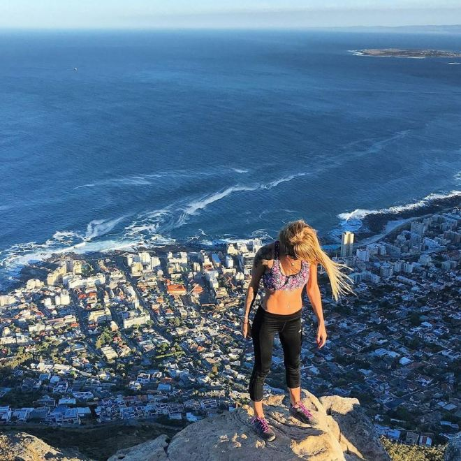 LIOns head top of the world