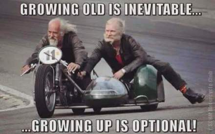 OLD MAN in sidecar outoppie